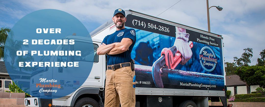 Over 2 Decades of plumbing experience.